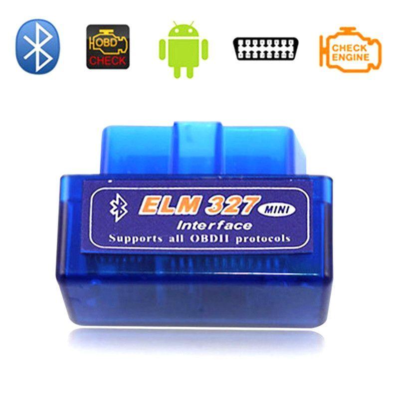 Super Mini OBD2 OBDII EML327 Adapter Auto Scanner Torque