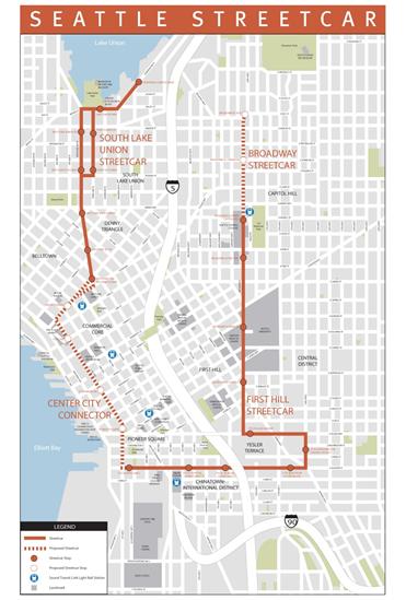 South Lake Union Seattle Streetcar Seattle Pinterest South