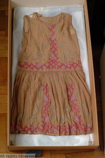 1925-1927 evening dress