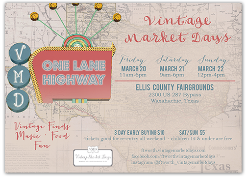 Vintage Market Days Is An Upscale Vintage Inspired Indoor Outdoor