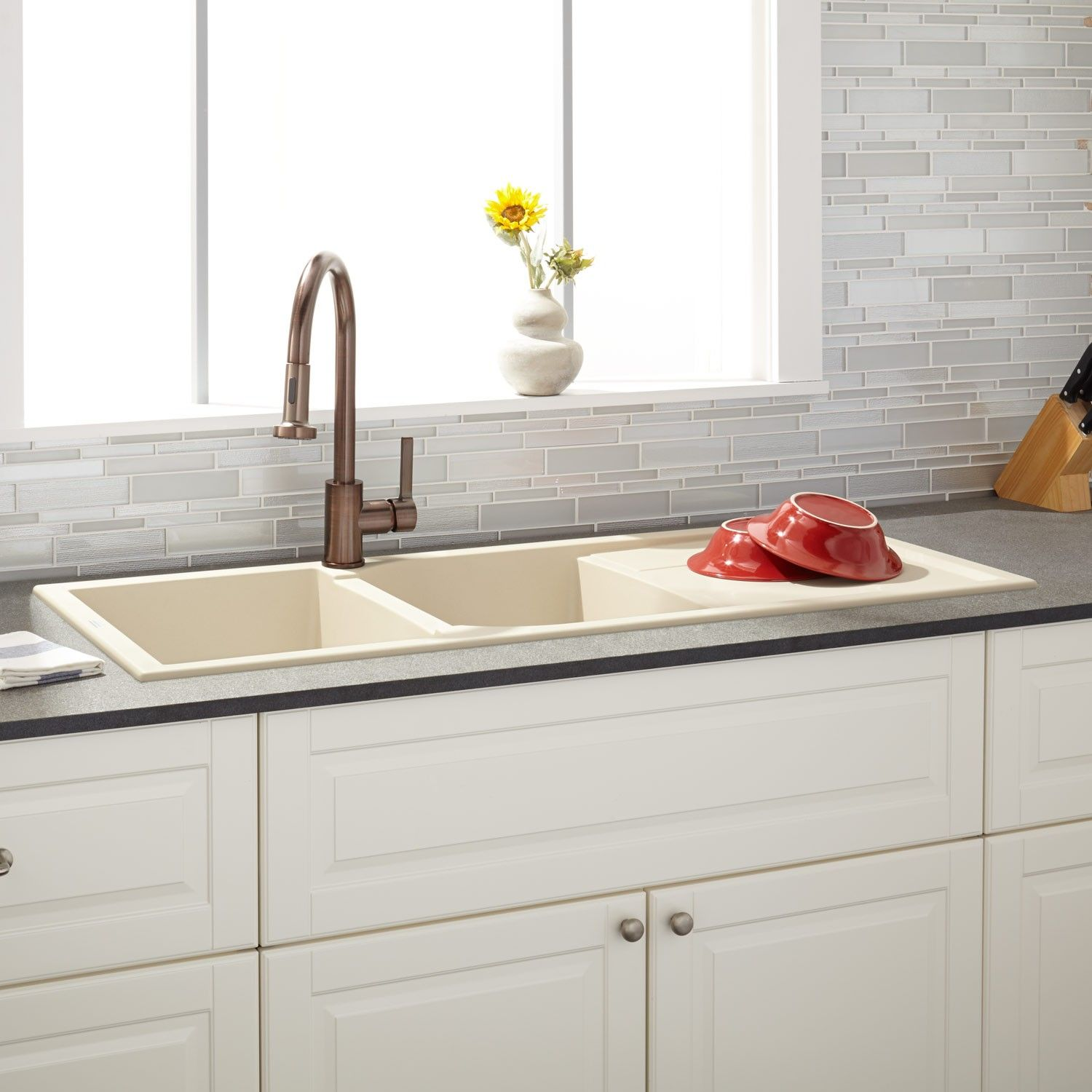 5 Drainboard Sinks That Will Have You Swooning  Sinks Kitchens Magnificent Kitchen Sinks With Drainboards Design Inspiration