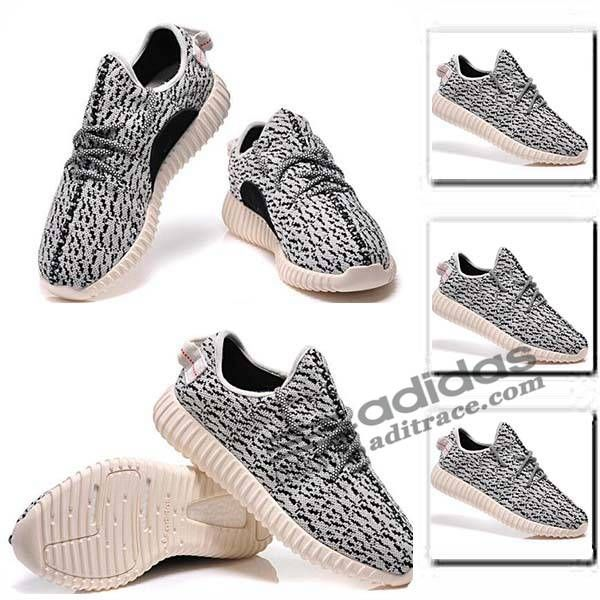 adidas yeezy boost 350 nouvelles chaussure homme blanche noir aditrace