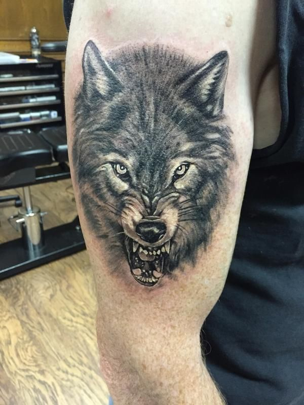 719c291fa6e00 73 Amazing Wolf Tattoo Designs | Tats | Tribal wolf tattoo ...