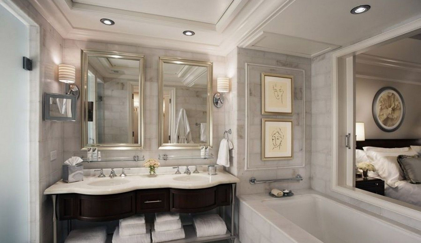 More Inspirations At Wwwhomedecorideaseu #luxuryhomes Delectable Luxury Bathroom Decorating Ideas 2018