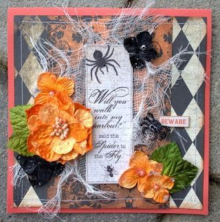 Want to send a spooky greeting before Halloween arrives. Come see DT Member, Helena Johannson's beautiful card for your next Halloween invite. http://petaloo.typepad.com/blog/2012/10/halloween-card.html
