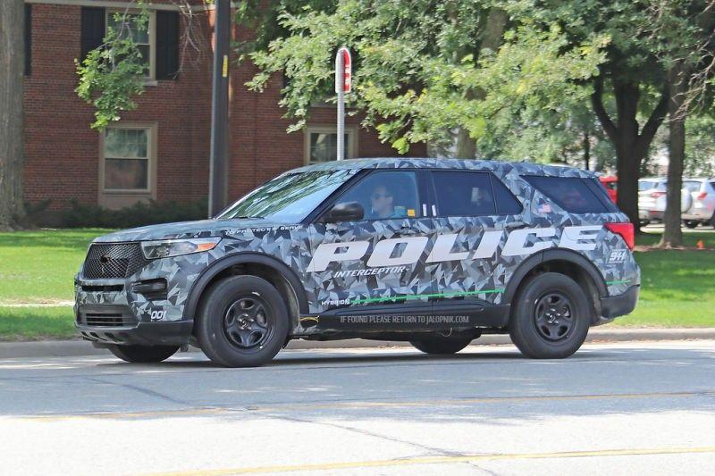 2020 Ford Police Interceptor Utility Police Truck Old Police Cars Ford Police