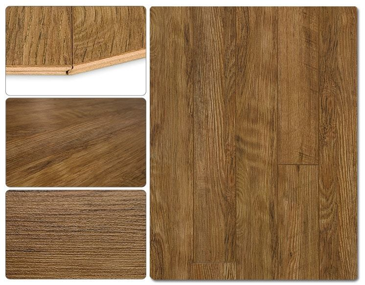 Lamton Laminate 7mm Narrow Board Collection Underpad Attached Solid Hardwood Floors Laminate Flooring Laminate