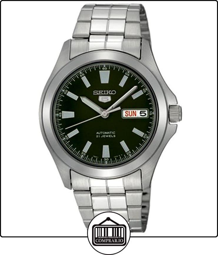 37e4a82d7656 Seiko SNKL05 - Reloj automático para hombre con correa de acero inoxidable