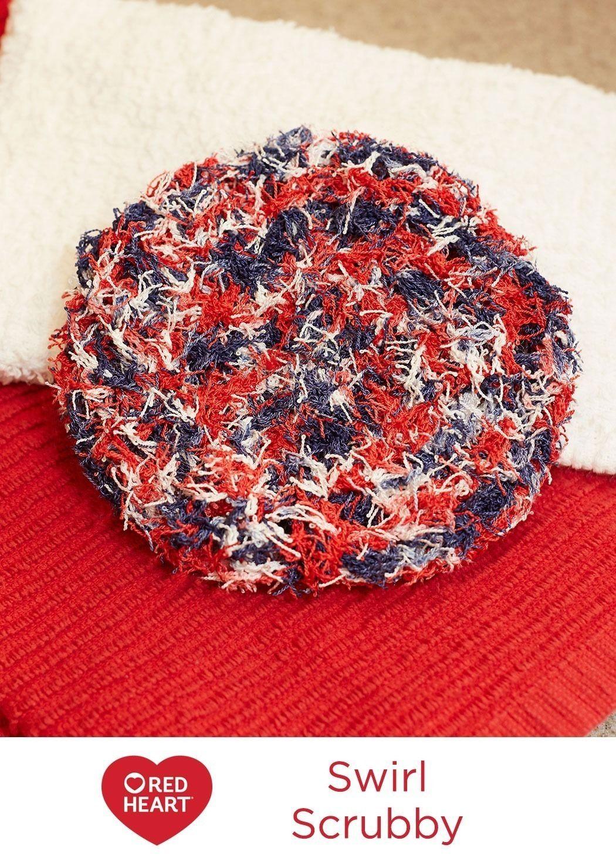 Swirl Scrubby Free Crochet Pattern In Red Heart Yarns Keep Your