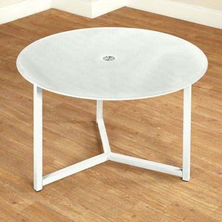 Glass Cocktail Table, Multiple Colors, White