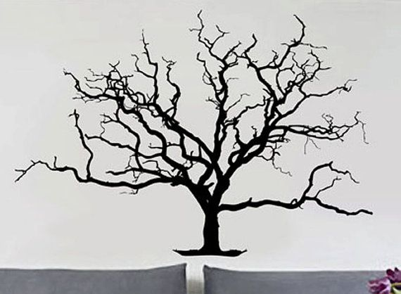 Bare Tree 3 Uber Decals Wall Decal Vinyl Decor Art By Uberdecals