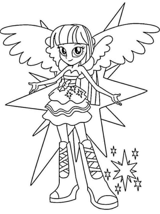My Little Pony Equestria Girls Coloring Pages My Little Pony Coloring Coloring Pages For Girls Unicorn Coloring Pages
