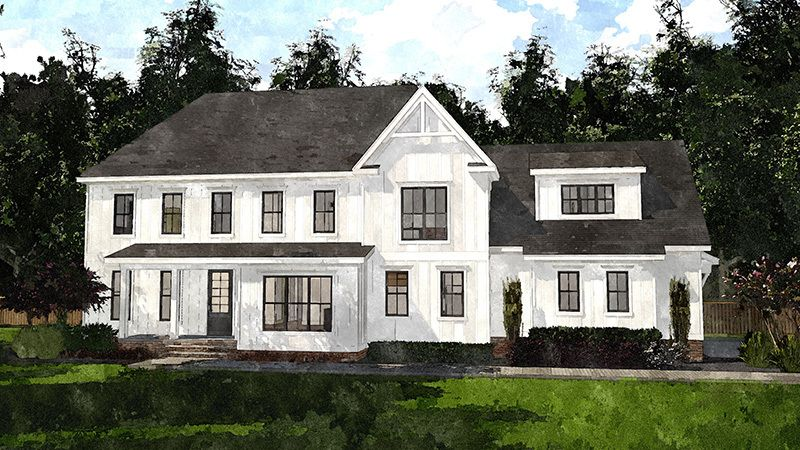 Sl2059 Colorrendering In 2020 Southern House Plans Southern Living House Plans Building A House