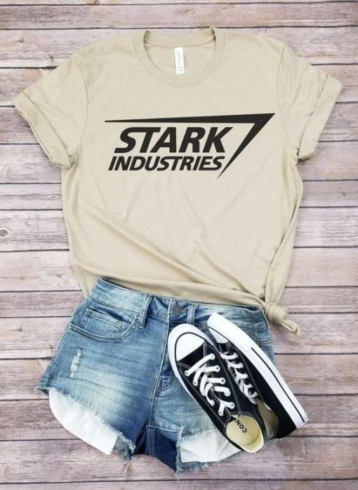 Stark industriez T-Shirt Website Name Website Name