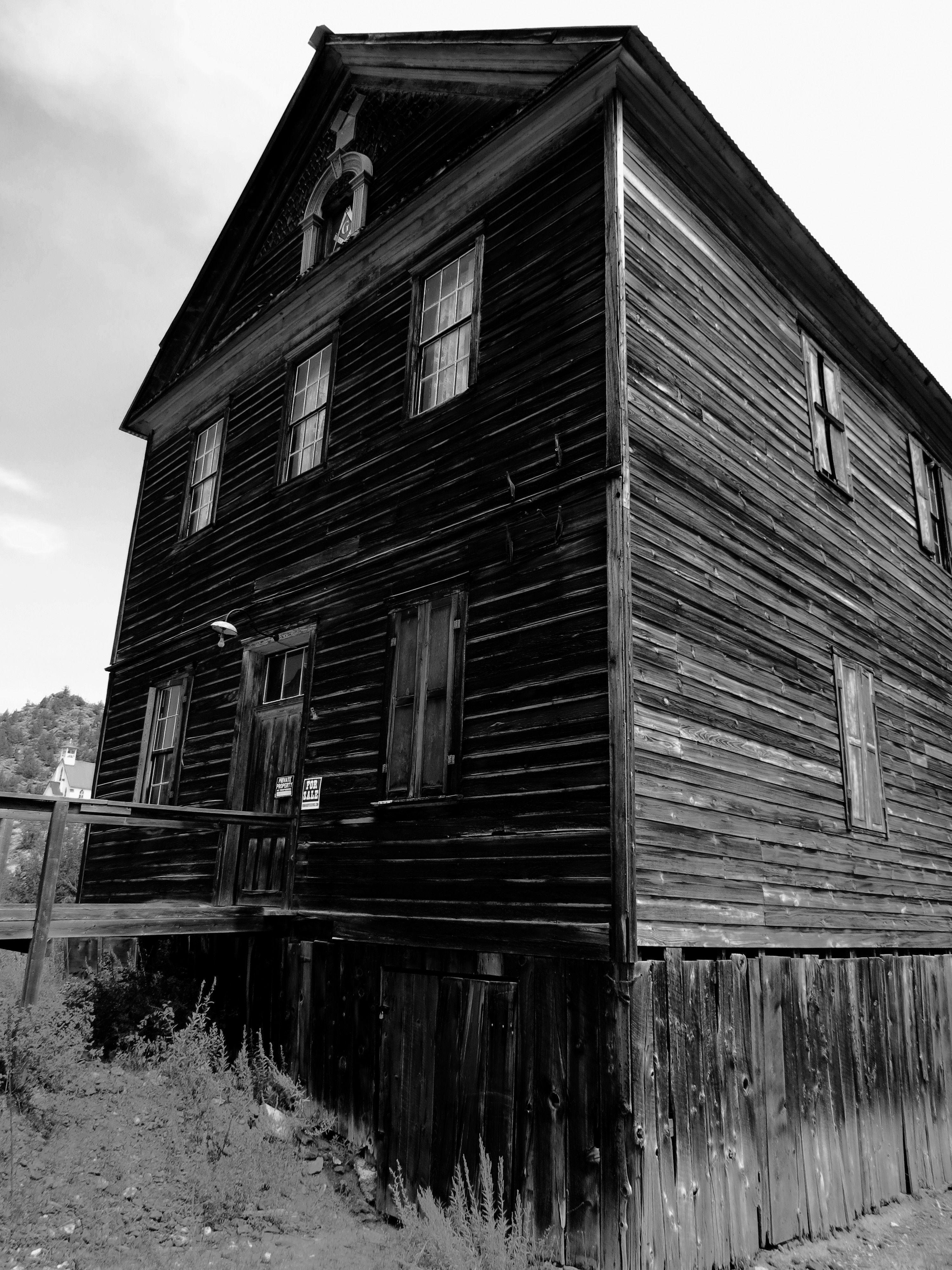 Mason Building In Silver City Idaho Of