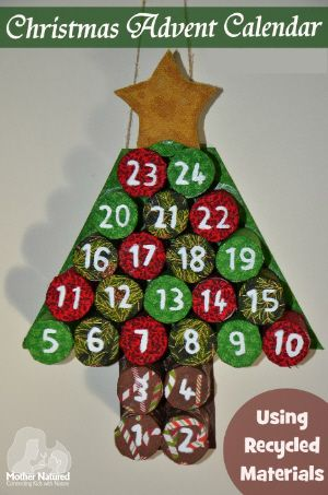 Recycled Advent Craft