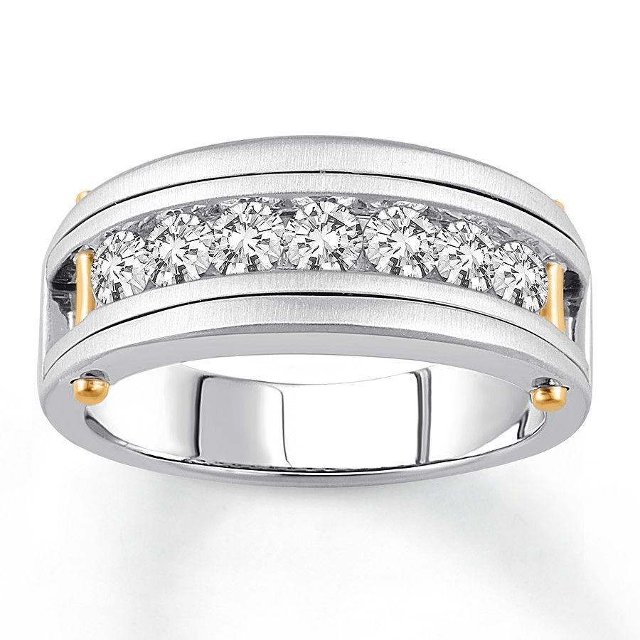 seven design product white stone jewellery designs in wedding classic ring diamond band sarah laurie gold