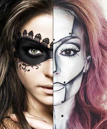 Best Halloween Makeup Two Face Photos - Halloween Ideas 2017 ...