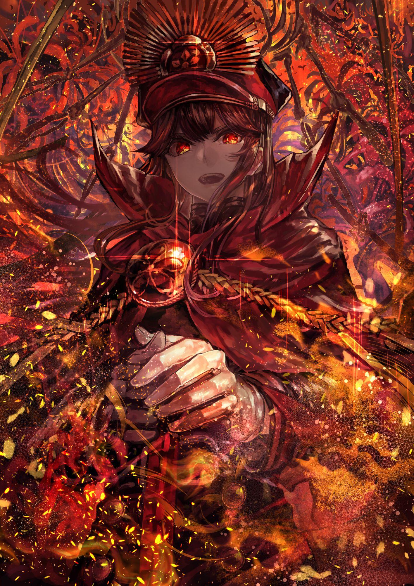 Majin demon archer oda nobunaga fate fate stay night