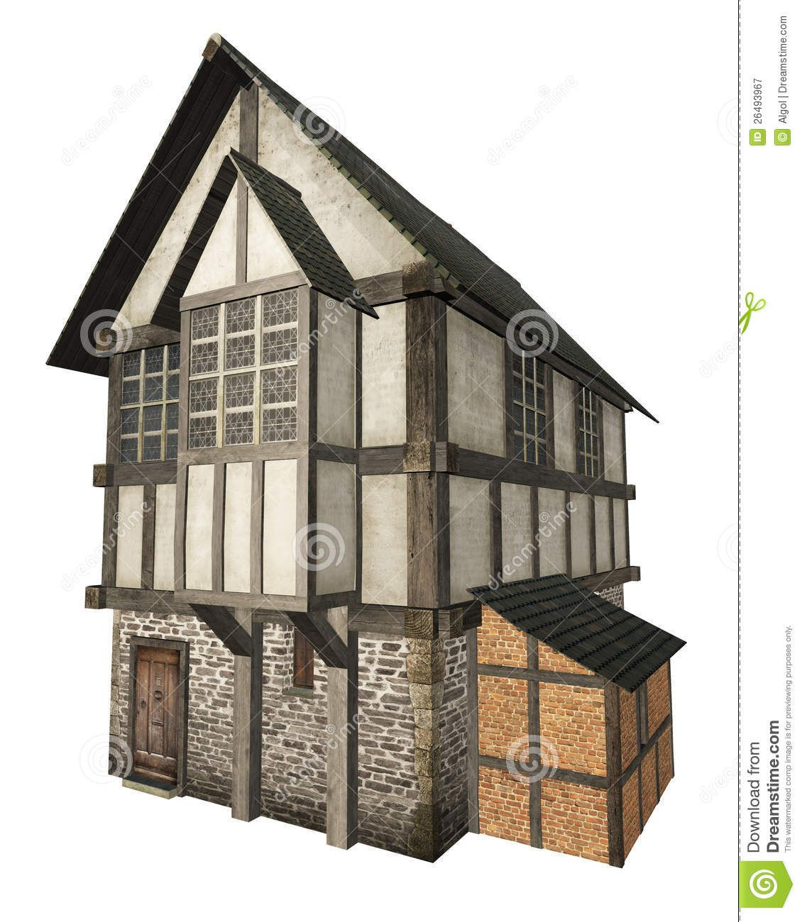 Medieval Timber Frame Town House Timber Trails Turnkey