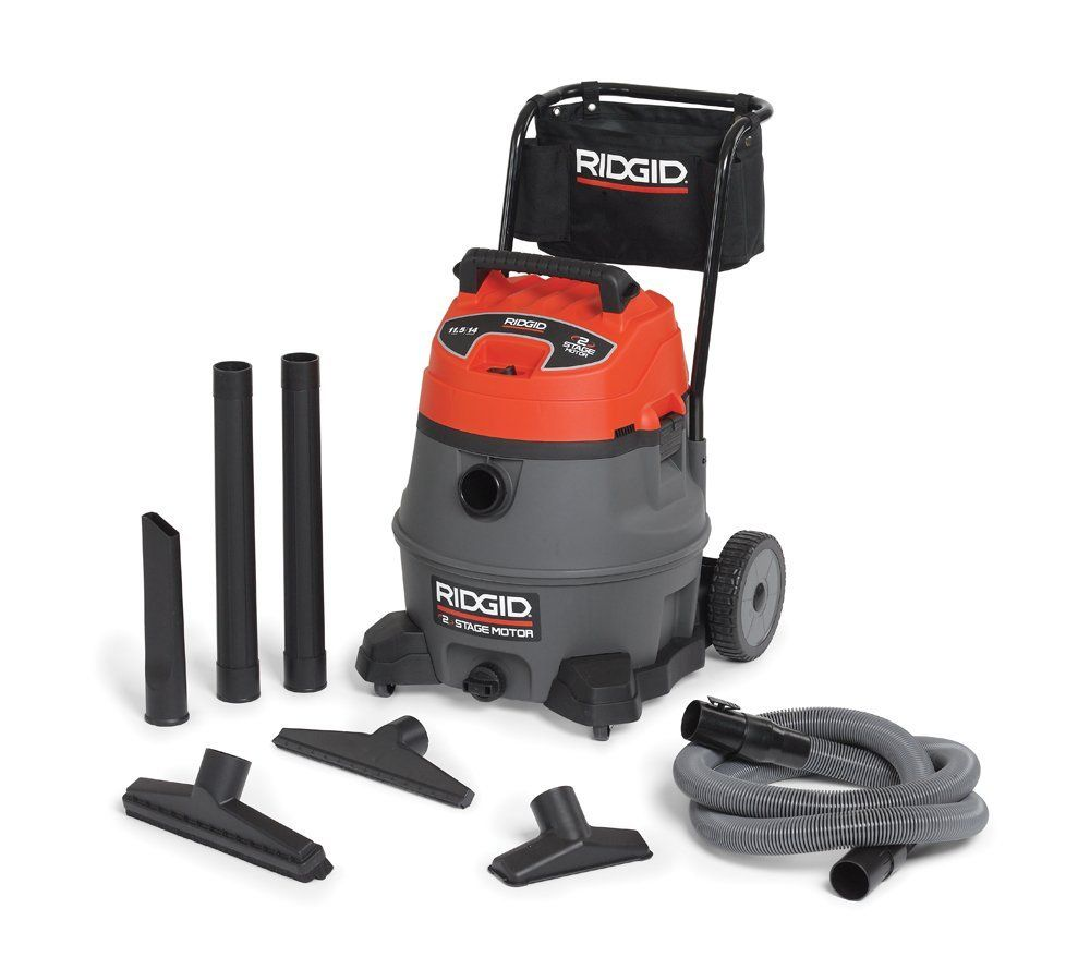 Ridgid 25648 RV2400A 14 Gallon 2Stage Industrial Vacuum