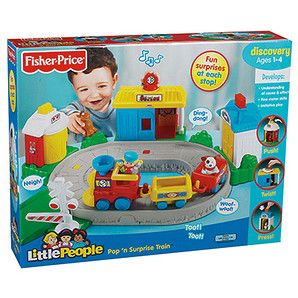 Fisher Price Little People Pop 'N Surprise Train