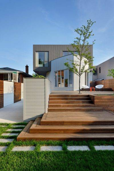 Thermally Modified Wood Cladding & Decking Gallery