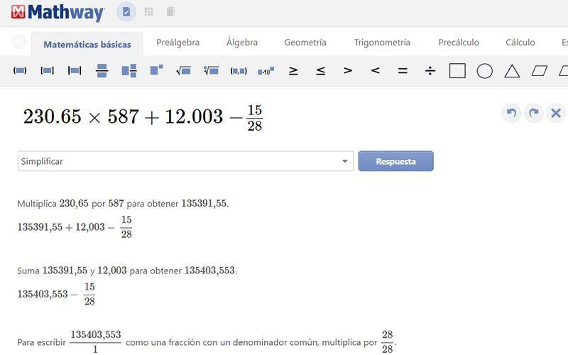 Mathway: resuelve operaciones matemáticas con vista paso a paso ...