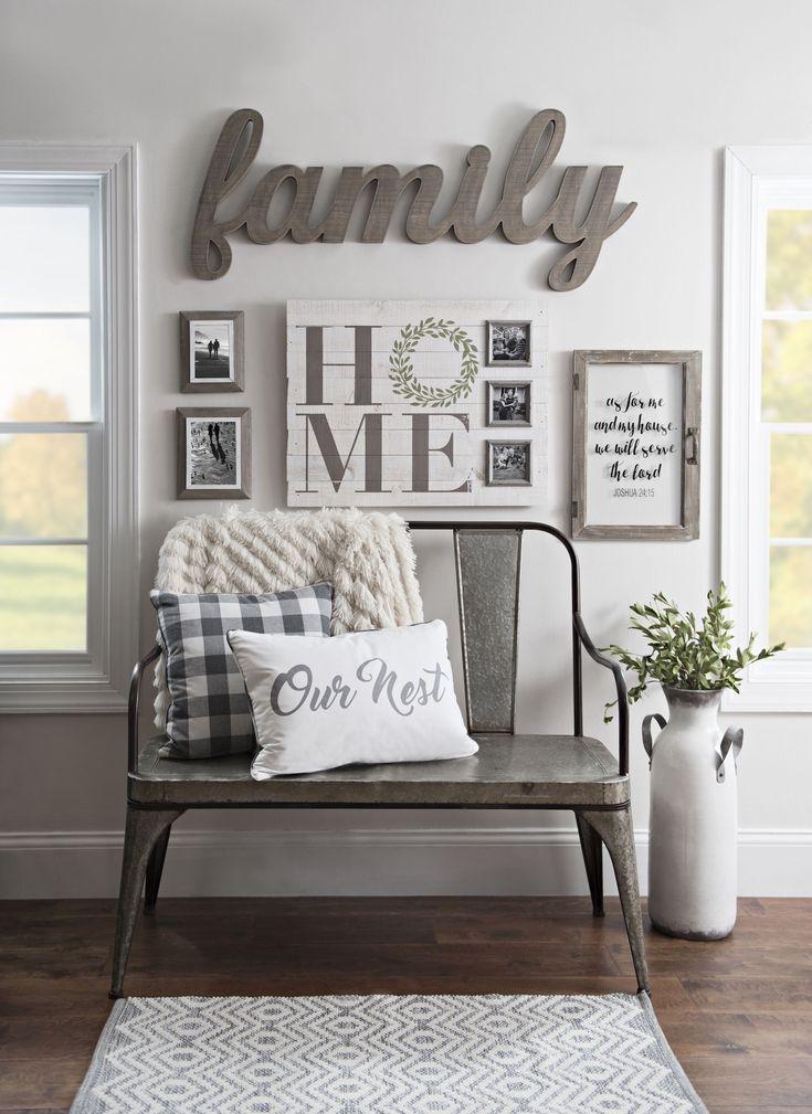 Rustic farmhouse entryway decor Livingroom Ideas Pinterest - decoracion de apartamentos pequeos