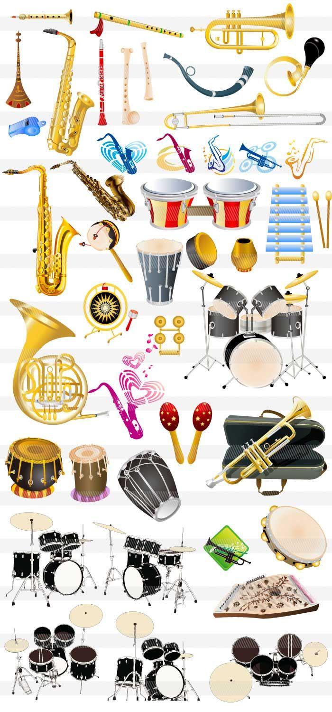 トランペット・ラッパ・ドラム | 音楽♬♪♫ | pinterest | 楽器、楽器