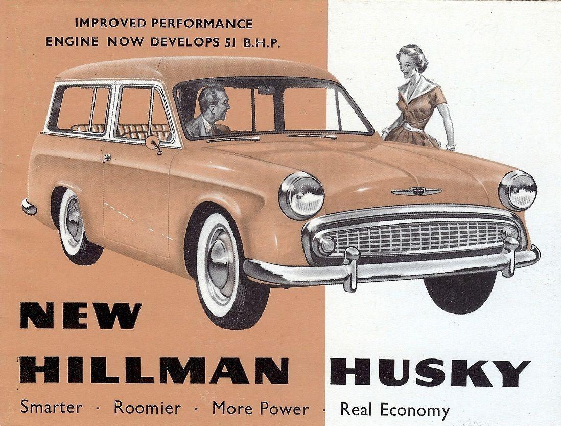 Details About Hillman Husky Estate Car 1390 Cc 1959 British