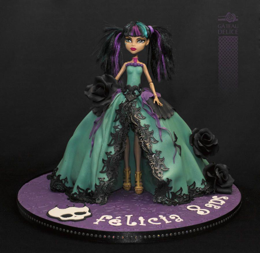 Monster High Kuchen Backen Deutsch Appetitlich Foto Blog