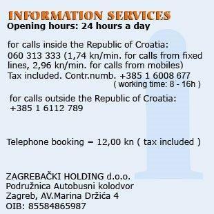 Autobusni Kolodvor Zagreb Sluzbene Stranice Bus Info Croatia Zagreb Croatia The Republic