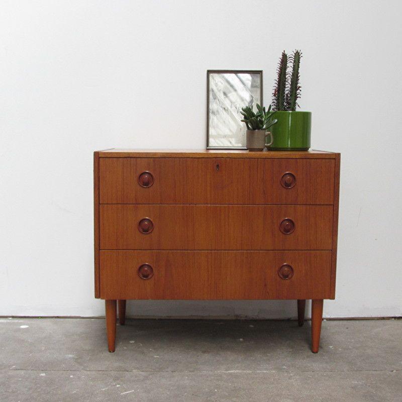 Vintage ladenkast jaren 60 | Badkamer | Pinterest
