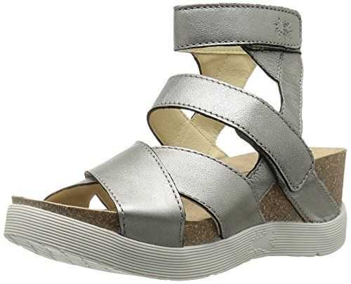 965a0ce3086 FLY London Womens Wege669fly Platform Sandal Lead Borgogna 38 EU758 M US     Visit the image link more details.(This is an Amazon affiliate link)