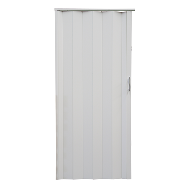 Pillar Products 82 X 203cm White Monaco Pvc Concertina Door Concertina Doors Pvc Door Pillars