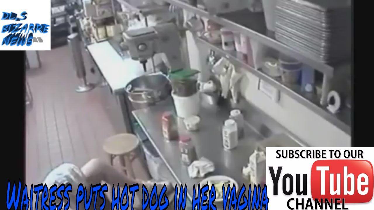 In folgendem Video können wir eine Kellnerin in einem kalifornischen ...
