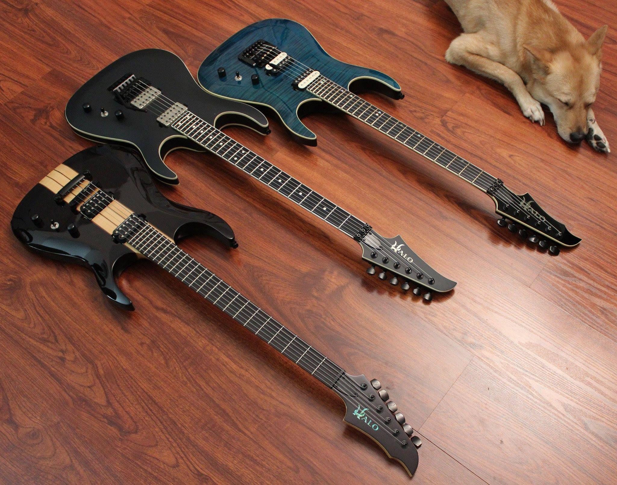 Pin By Ricci Peyroux On Halo Guitars Pinterest Guitars