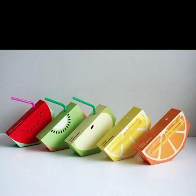 Cute juice boxes