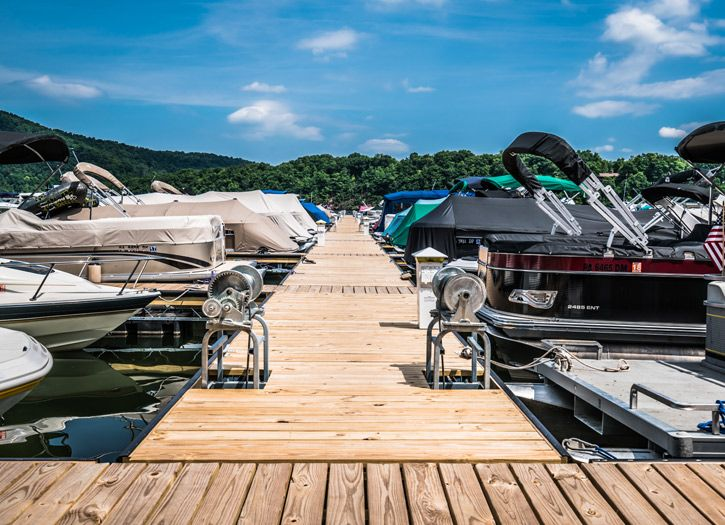 Lake raystown resort in pennsylvania is glamping at its