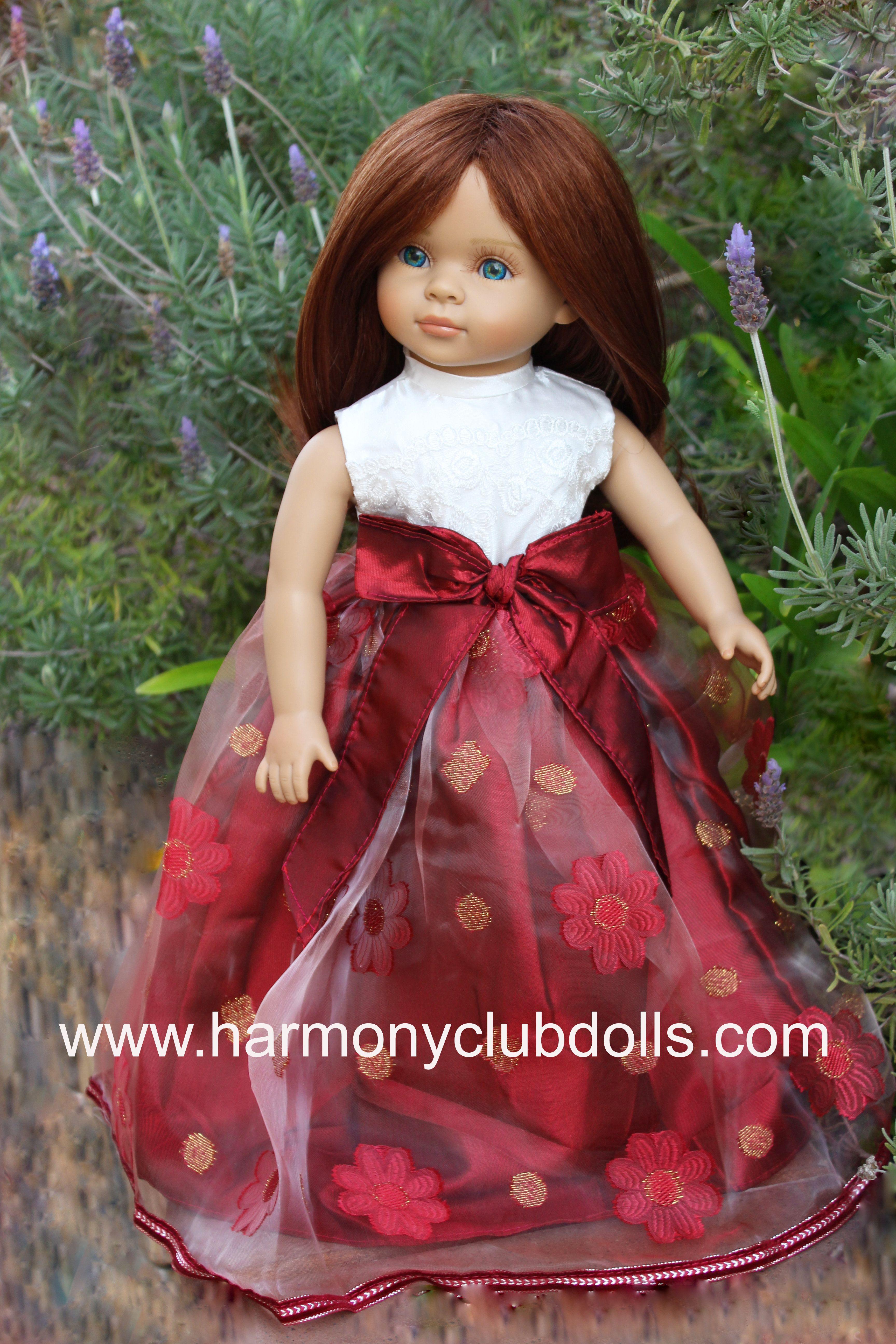 """HARMONY CLUB DOLLS 18"""" Dolls. Over 300 styles to fit American Girl Dolls www.harmonyclubdolls.com"""