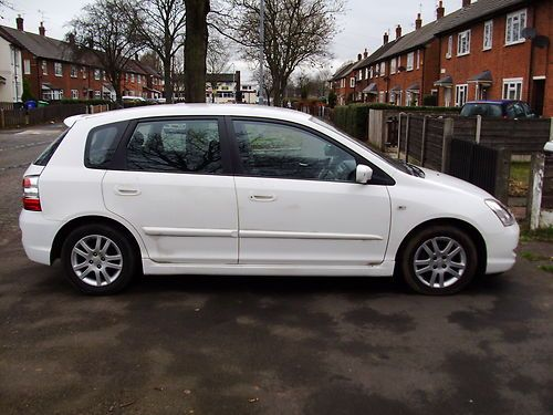 2004 HONDA CIVIC SE CTDI WHITE  Item condition:	Used  Time left:	30m 2s (31 Mar, 201218:22:52 BST)  Current bid:	£2,300.00