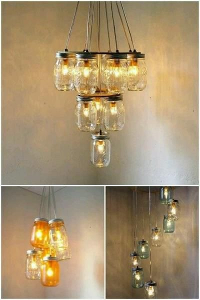 DIY Chandelier Ideas.   Home Projects