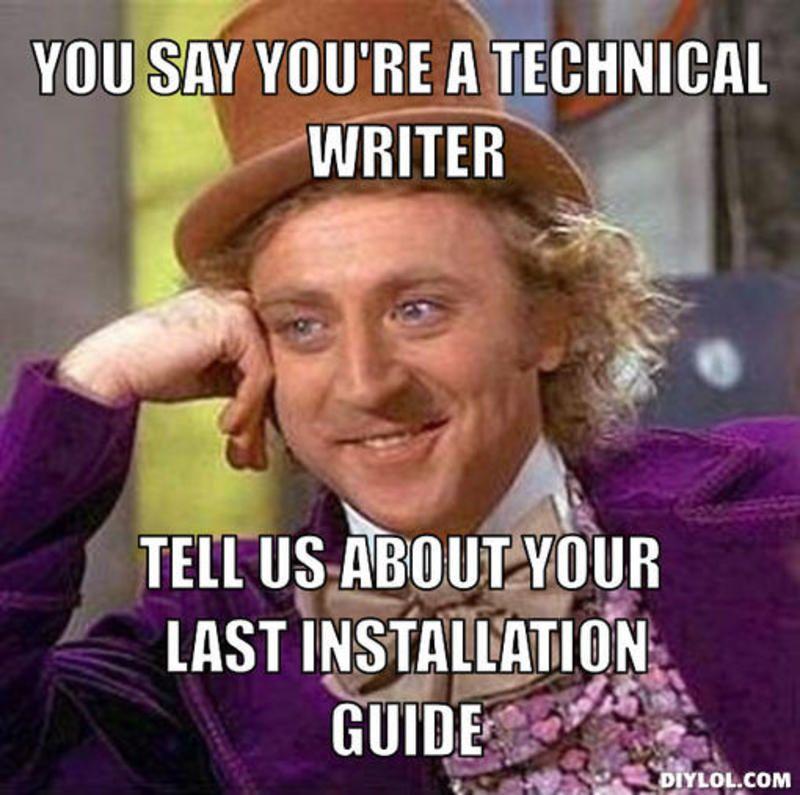 Technical writer telecommute
