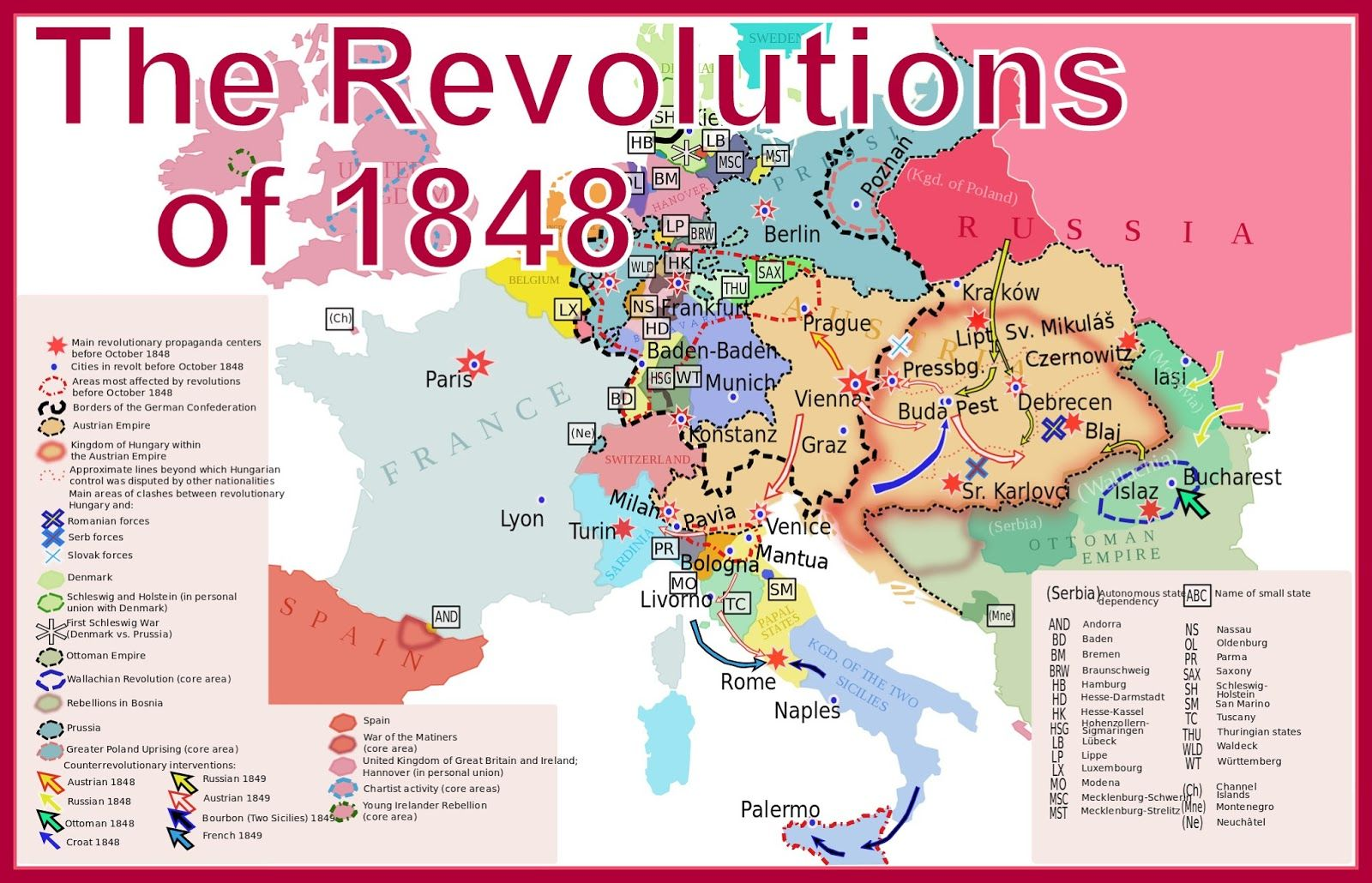 The German Revolutions of 1848