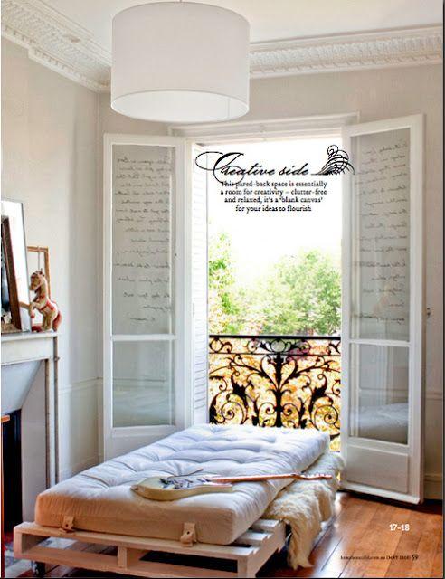 Pin de Linda Lara Neotte en - Carretel, paletes e etc - Pinterest - camas con tarimas