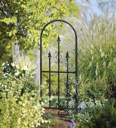Attractive Steel Garden Trellis | Metal Garden Trellis