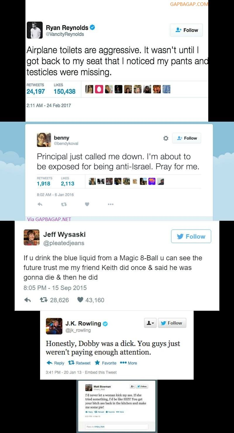 Top 10 Hilarious Tweets Of The Year ft. Celebrities