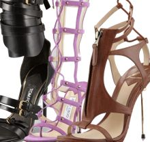 Trends to Try — 10 Gladiator-Inspired Heels for Spring 2013