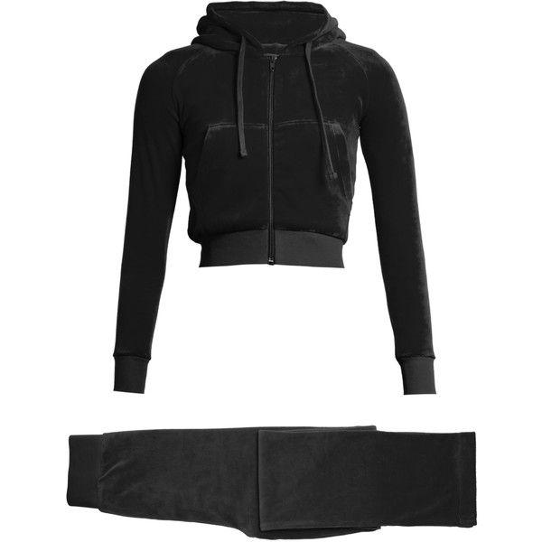 Vetements X Juicy Couture cotton-blend velour tracksuit ( 2 e7b46bbdd